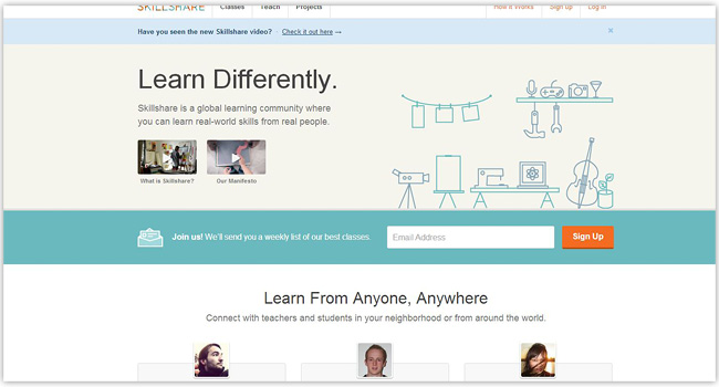Платформа Skill Share