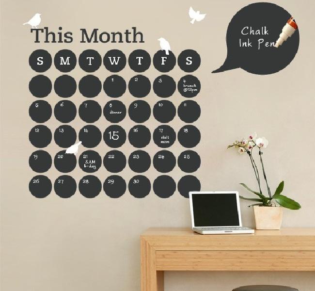 Оригинальный календарь для офиса