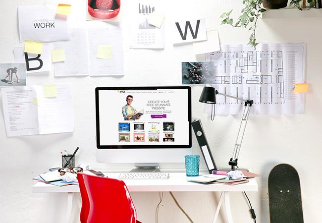 Дизайн домашнего офиса - полезные документы всегда должны быть рядом