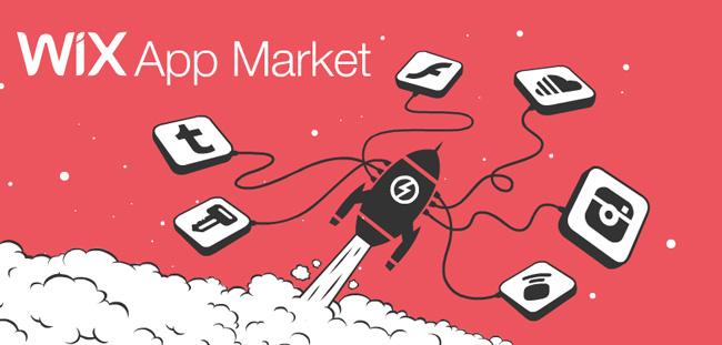 Магазин приложений Wix App Market