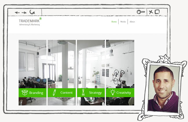 Шаблон для сайта рекламного агентства