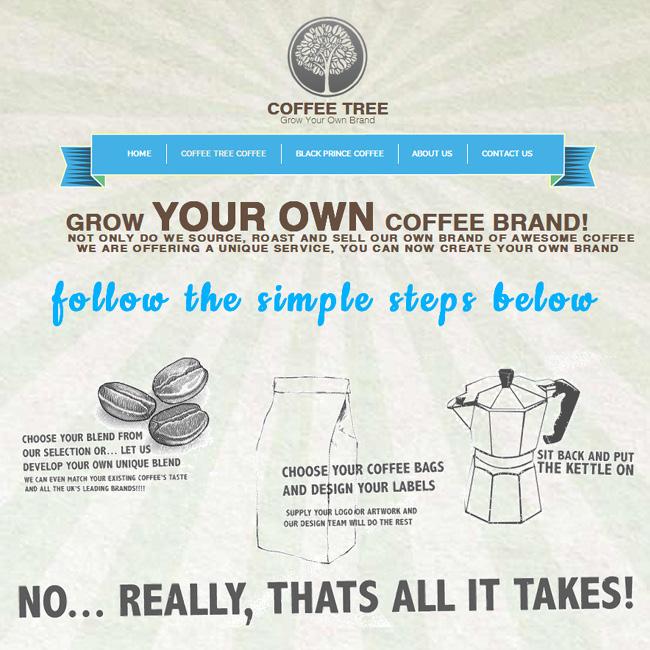 Сайт нтернет-магазина Coffee Tree