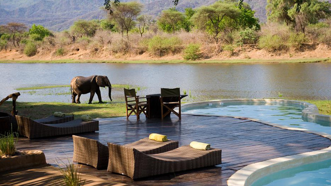 Chongwe River House, Замбия, Африка