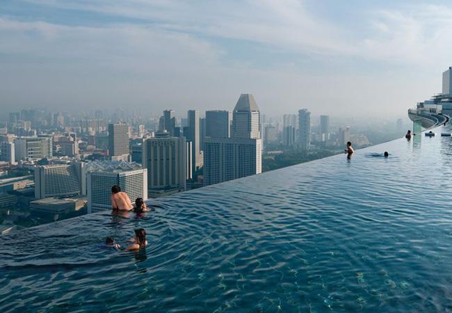 Бассейн бесконечности, Сингапур