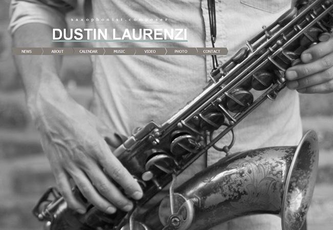 Саксофонист Dustin Laurenzi