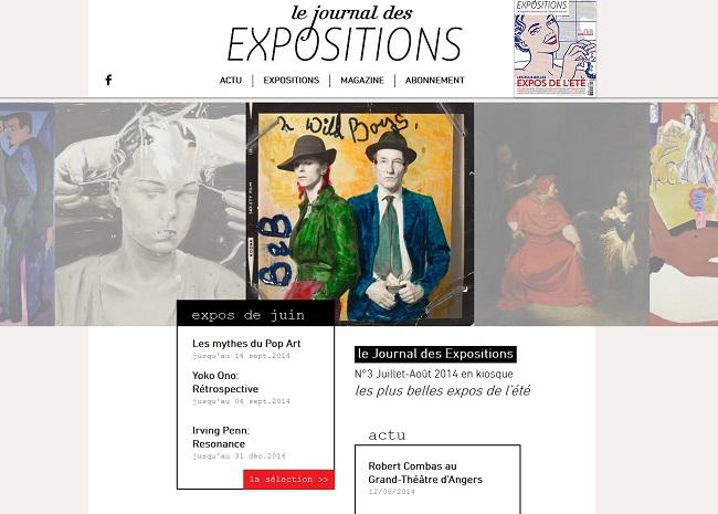 Le Journal des expositions