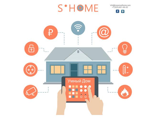 MosSmartНome — умные решения для дома.