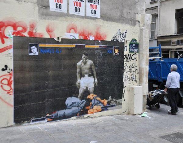 стрит-арт боксер игра