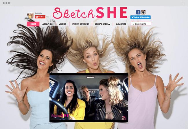 официальный сайт SketchSHE
